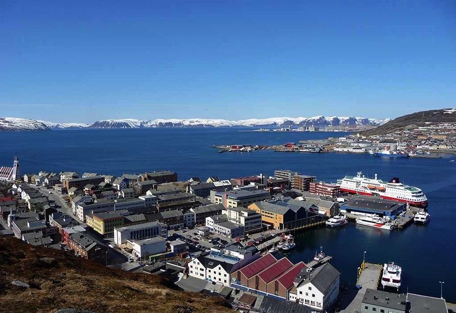 MS Nordkapp, Hammerfest