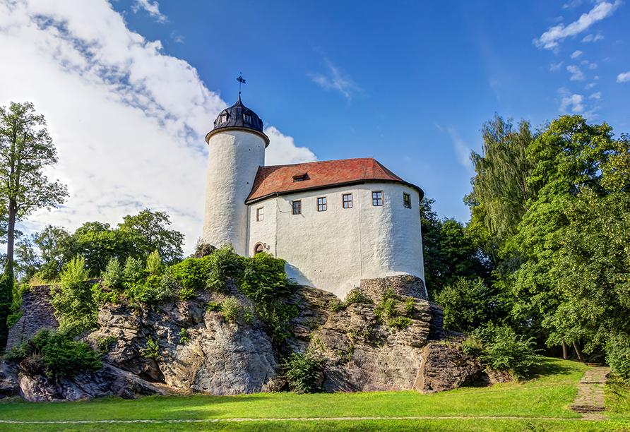 Pentahotel Chemnitz in Sachsen, Burg Rabenstein