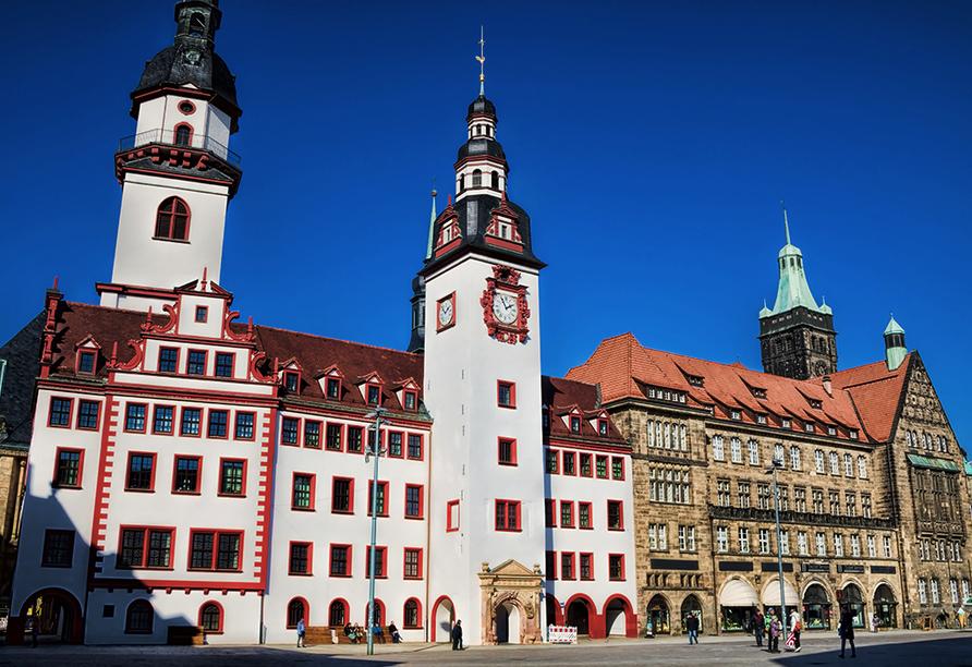 Pentahotel Chemnitz in Sachsen, Rathaus