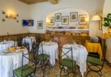 Hotel Villa Grazioli in Rom, Frühstücksraum