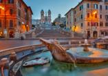 Hotel Villa Grazioli in Rom, Spanische Treppe