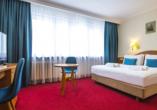 Polen Rundreise, Best Western Hotel Portos Zimmerbeispiel