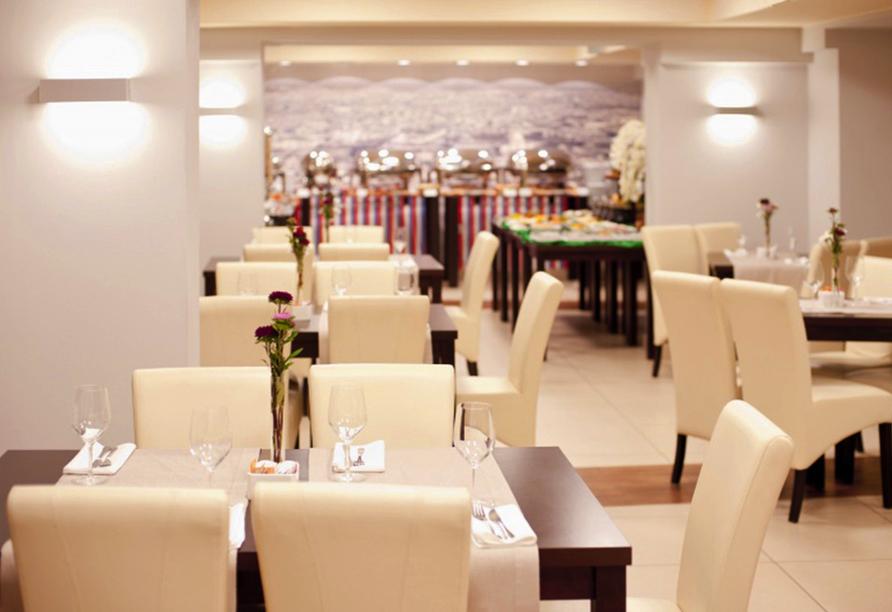 Polen Rundreise, Best Western Hotel Portos Restaurant