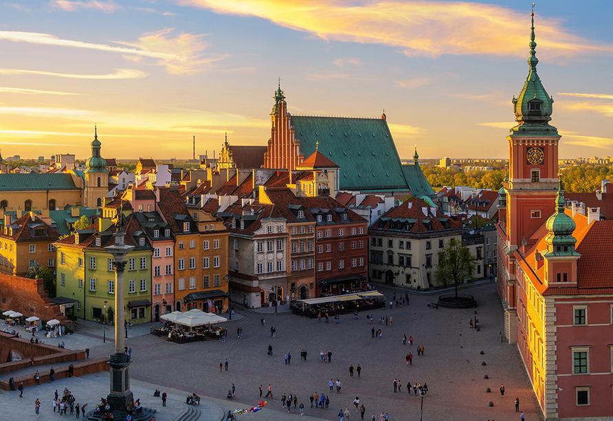 Polen Rundreise, Altstadt von Warschau