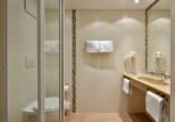 das seidl Hotel & Tagung in Puchheim bei München, Beispiel Badezimmer