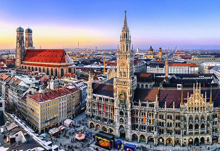 das seidl Hotel & Tagung in Puchheim bei München, Ausflugsziel München