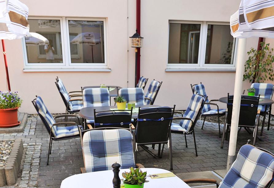 Airport Hotel Erfurt, Terrasse