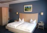 Hotel Zur Igelstadt in Lichtenfels-Fürstenberg im Hessischen Bergland Zimmer