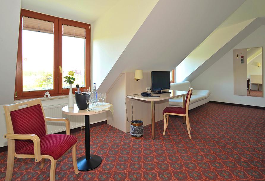 Hotel Quickborn in Quickborn an der Nordseeküste, Zimmerbeispiel