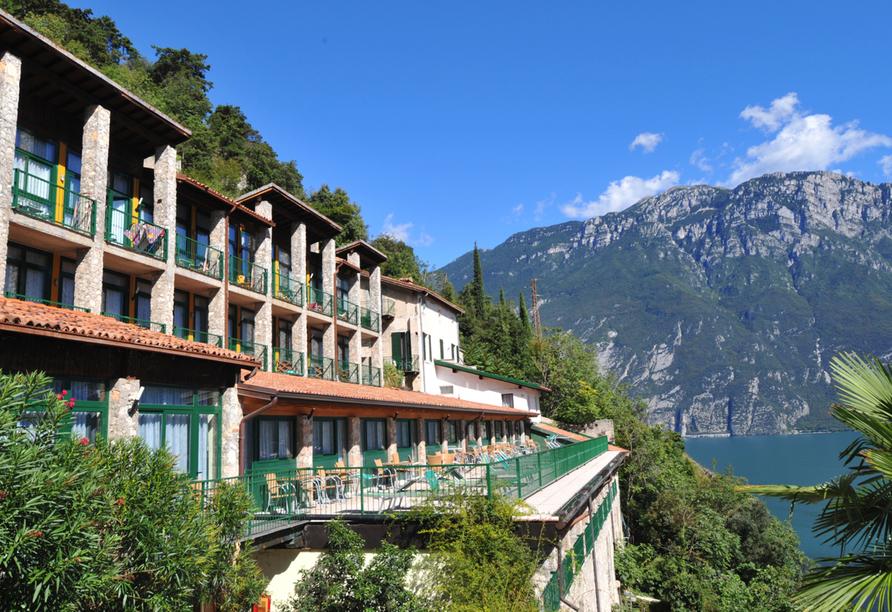 Hotel La Limonaia Gardasee, Hotelansicht