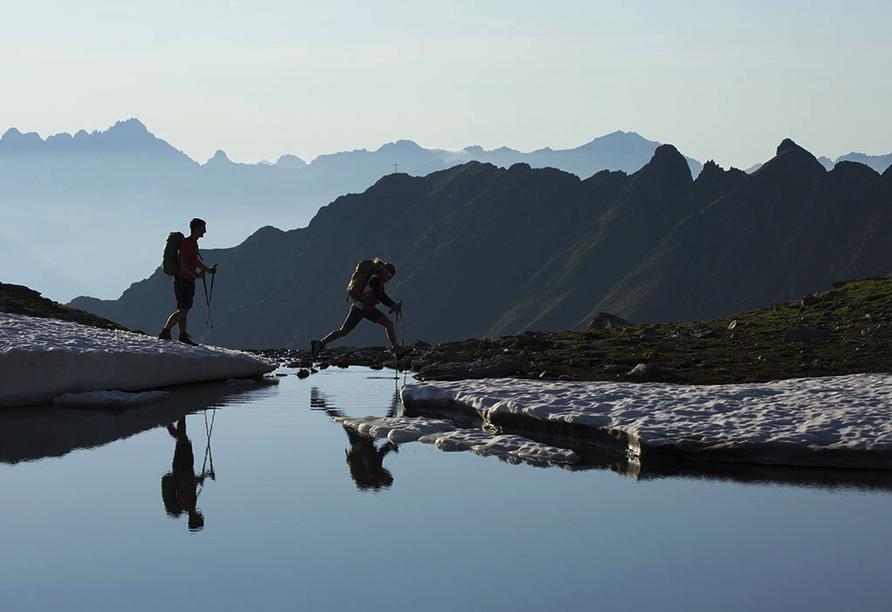 Sport & Vitalhotel Seppl in St. Leonhard im Pitztal Tirol, Landschaft