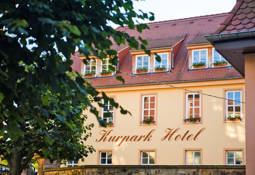 Kurpark-Hotel, Außenansicht