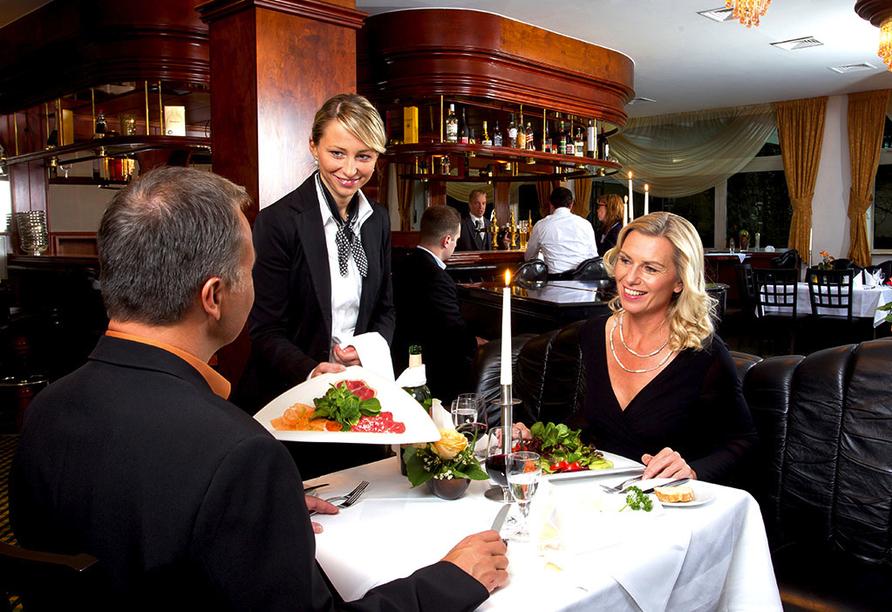SOIBELMANNS Hotel Alexandersbad, Abendessen im Restaurant