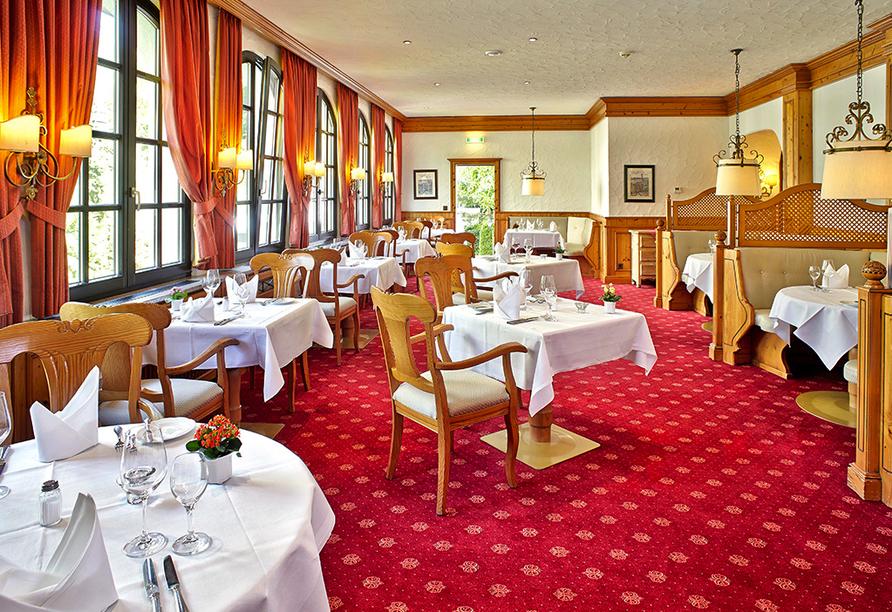 Mühl Vital Resort, Restaurant