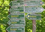 Hotel Rodebachmühle in Georgenthal im Thüringer Wald Wanderwege