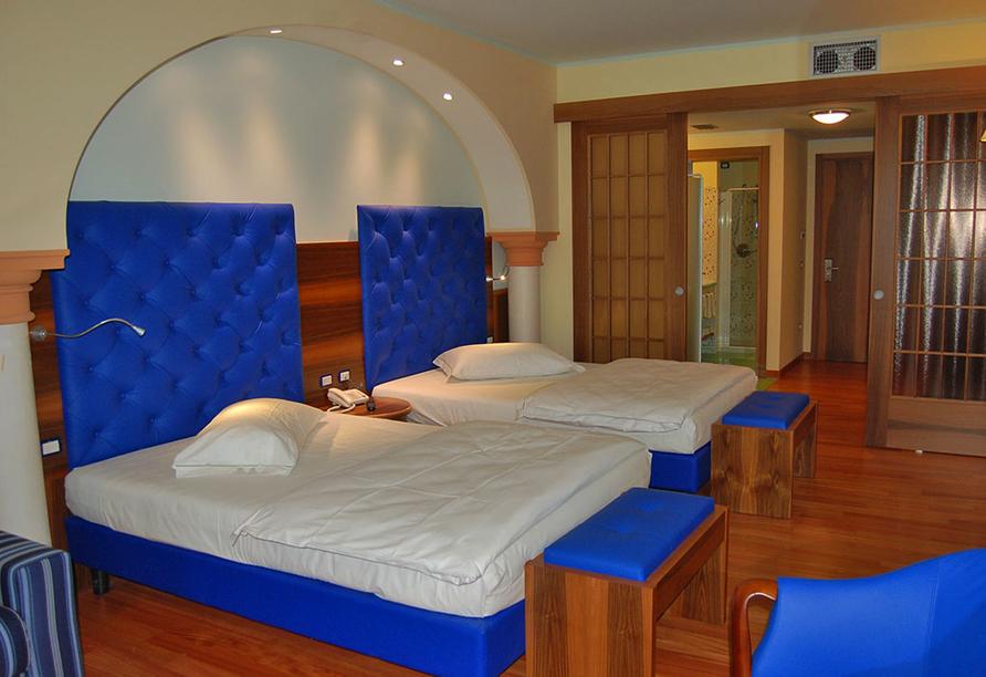 Beispiel eines Zimmers im Hotel Alexander