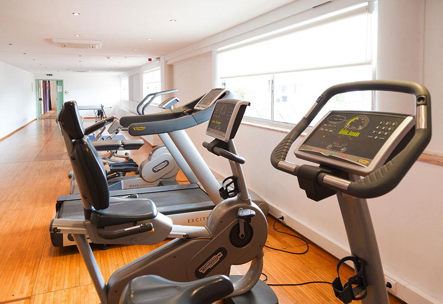 Hotel Vasco da Gama in Monte Gordo, Fitnessraum
