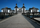 Strandhotel Lobbe in Lobbe auf Rügen, Ausflugsziel Sellin