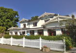 Strandhotel Lobbe in Lobbe auf Rügen, Außenansicht