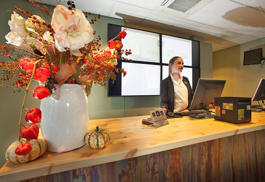 Best Western Hotel Zaan Inn in Zaandam Niederlande, Rezeption