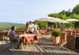 Panorama Hotel Heimbuchenthal, Terrasse