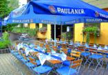 Landhotel Wasgau in Hauenstein, Terrasse