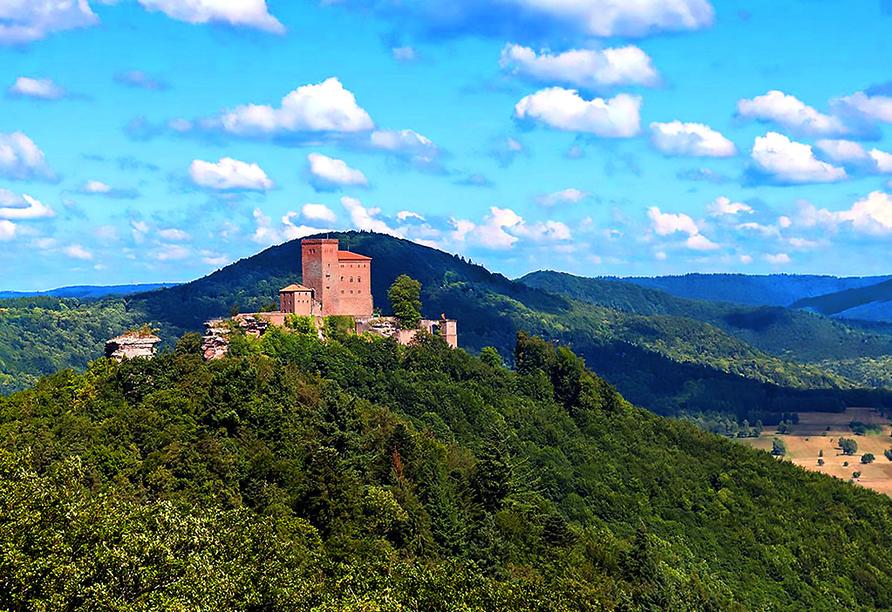 Landhotel Wasgau in Hauenstein, Burg Trifels