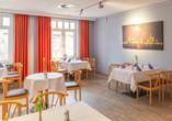 Hotel Rügenblick in Stralsund an der Ostsee Restaurant