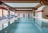 Hotel Laurenzhof in Lendorf, Hallenbad