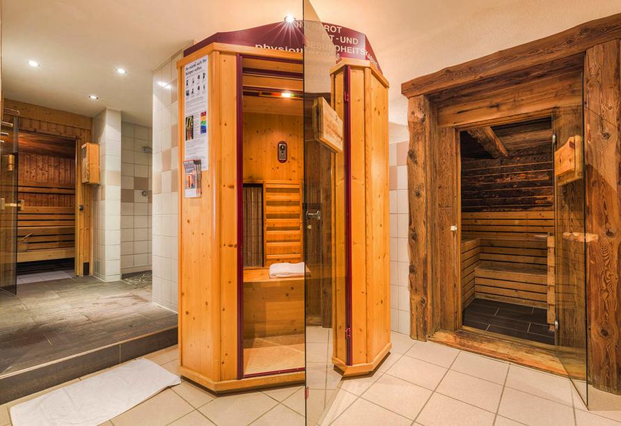 Hotel Laurenzhof in Lendorf, Saunabereich