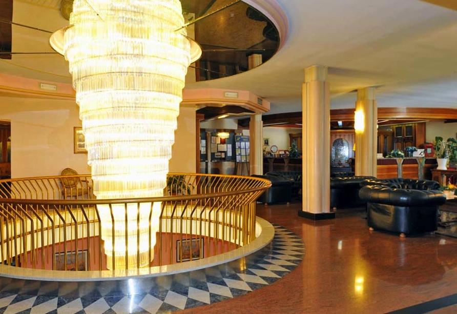 Park Hotel Oasi Garda Gardasee Italien, Hotelhalle