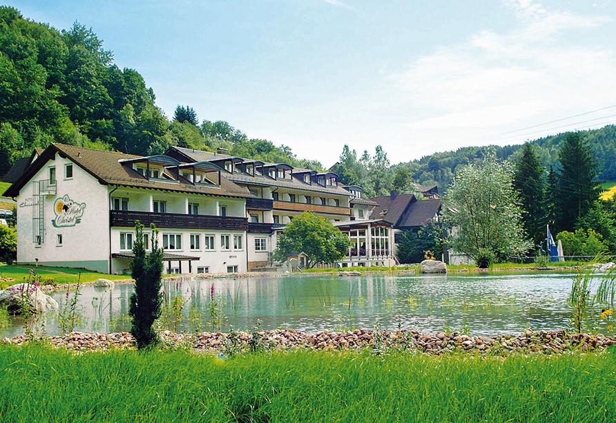 Hotel Christel in Heimbuchenthal, Außenansicht