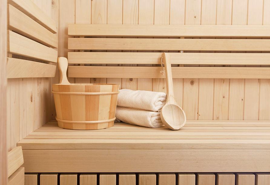 Hotel Christel in Heimbuchenthal, Sauna
