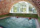 Park Hotel Jolanda in San Zeno di Montagna am Gardasee, Wellnessbereich