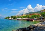 Park Hotel Jolanda in San Zeno di Montagna am Gardasee, Seeufer