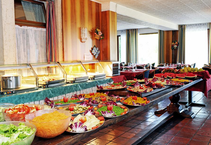 Park Hotel Jolanda in San Zeno di Montagna am Gardasee, Buffet