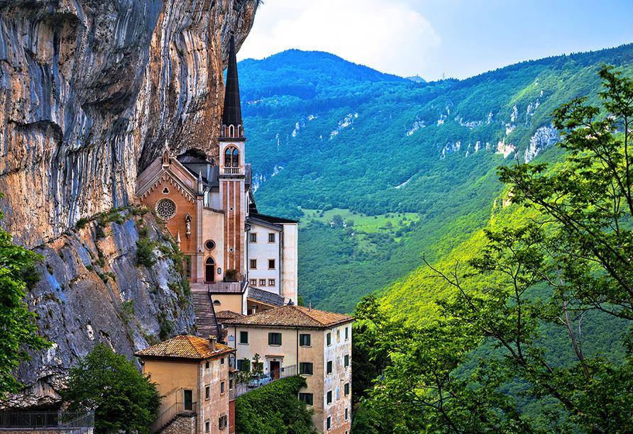 Park Hotel Jolanda in San Zeno di Montagna am Gardasee, Madonna della Corona