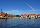 Mecklenburgische Seenplatte, Waren an der Müritz