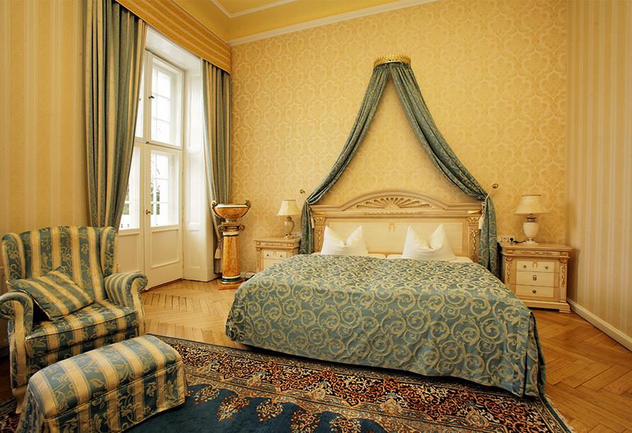 Schlosshotel Groß Plasten, Zimmerbeispiel