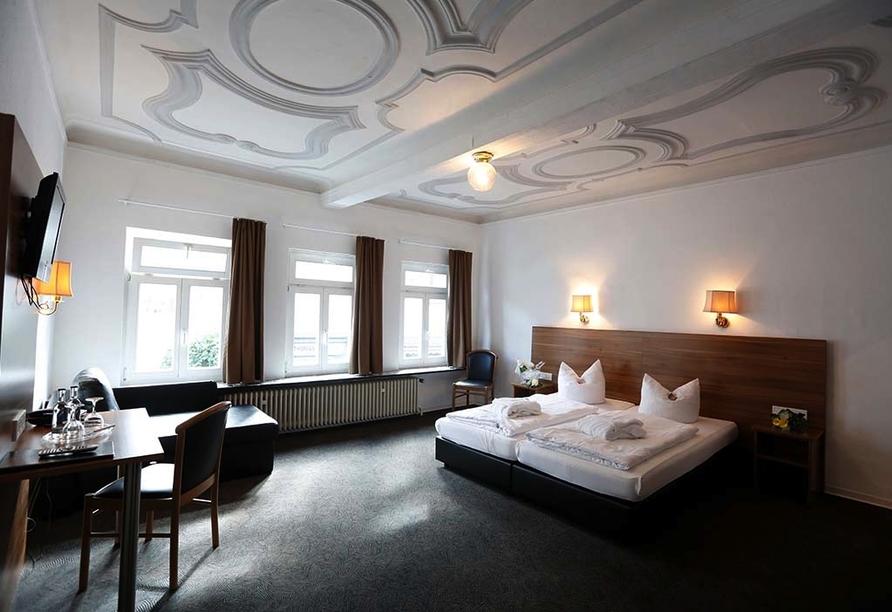 Hotel Schlemmer in Montabaur im Westerwald, Beispiel Dreibettzimmer