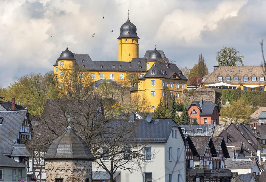 Hotel Schlemmer in Montabaur Westerwald, Schloss Montabaur