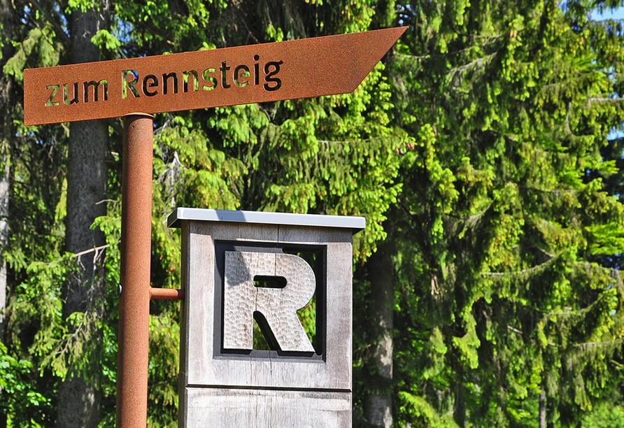 Ferienhotel Rennsteigblick in Friedrichroda