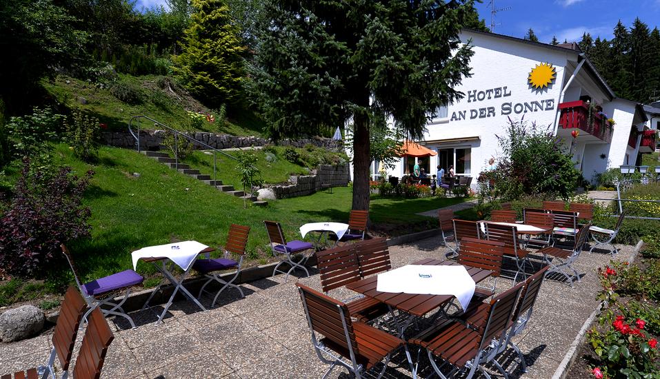 Hotel An der Sonne in Schönwald im Schwarzwald, Außenansicht