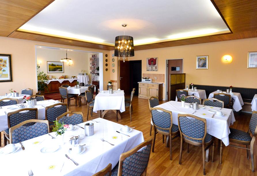 Hotel An der Sonne in Schönwald im Schwarzwald, Restaurant