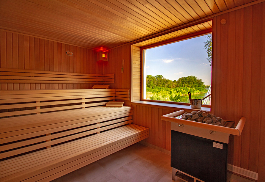 Hotel Acamed Resort Nienburg-Neugattersleben, Sauna