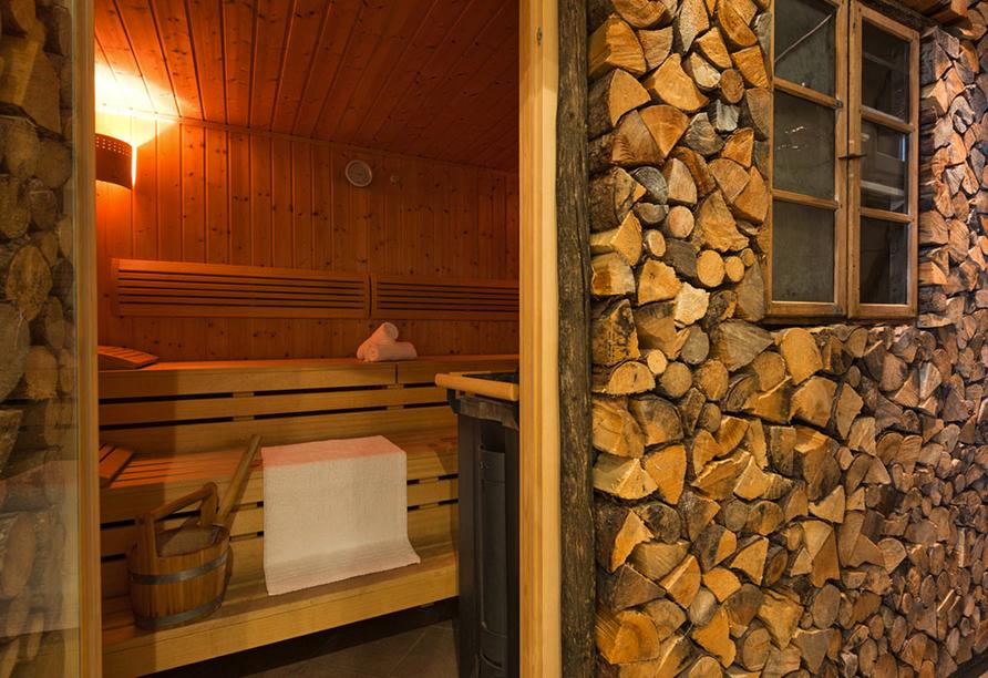 Hotel Rheinischer Hof Garmisch-Partenkirchen, Sauna