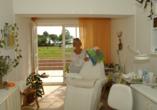 Flair Seehotel Zielow in Ludorf, Wellnessbereich