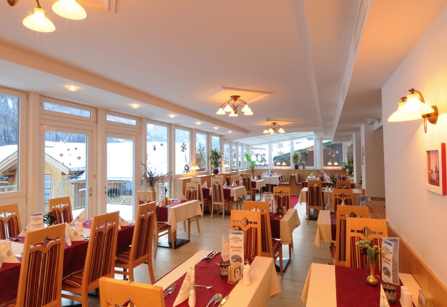 Hotel Nassereinerhof in St. Anton am Arlberg in Tirol Restaurant
