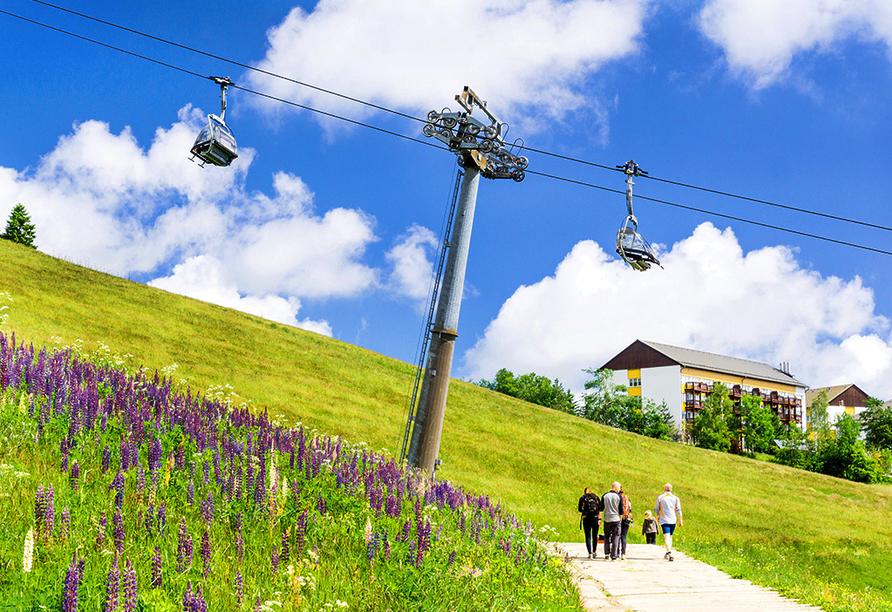 AHORN Hotel Am Fichtelberg im Oberwiesenthal am Erzgebirge, Lift