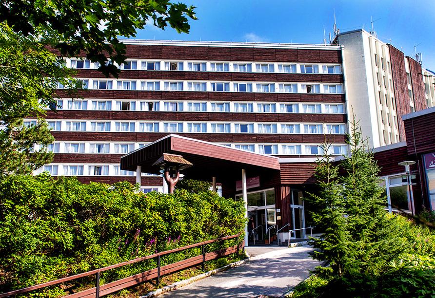 AHORN Hotel Am Fichtelberg im Oberwiesenthal am Erzgebirge, Außenansicht